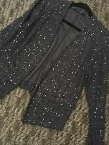 Navy-Blue-Fine-Knit-And-Sequin-Edge-To-Edge-Jacket-Next-Size-14