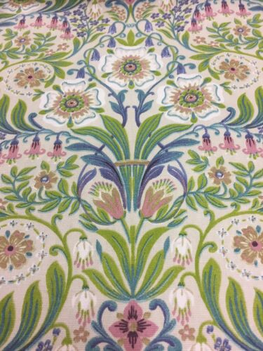 Art Nouveau Molly Natural (William Morris style) CURTAIN/uphol Fabric (2 M min)