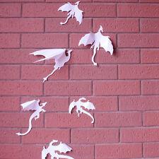 Dinosaur White 3D Wall Sticker Children Nursery Room Decoration Art