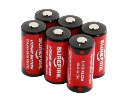 2 123A Lithium 3V Batteries for Flashlights #SF2-BB Surefire