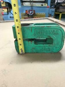 """FRAME ONLY UNIPUNCH 4B 3/"""" C-Frame Punch Press Die Tool"""