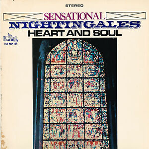SENSATIONAL-NIGHTINGALES-heart-amp-soul-U-S-PEACOCK-LP-SLP-154-rare-gospel