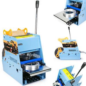 WYZworks-Manual-Cup-Sealer-Machine-270W-Boba-Milk-Tea-95mm-Cups-Film-Lidding