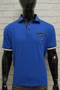 Polo-Maglia-Maglietta-Blu-Uomo-PIERRE-CARDIN-Taglia-Size-XL-Camicia-Shirt-Man