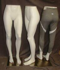 Female Mannequin Hi Waist Pantshorts Form Legs With Split Toe And Metal Base