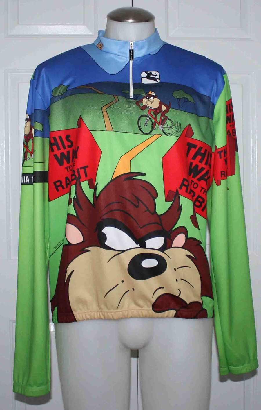 GIORDANA TAZ   TAZMANIAN DEVIL   CYCLING   RACING BIKE JERSEY 58