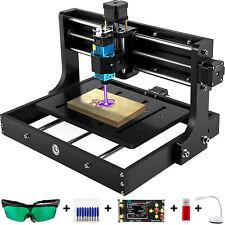 Vevor 2500mw Cnc 3020 Router Kit Mini Laser Engraver 10000rpm Offline Control Us