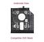 Lenovo-110-310-320-510-5000-Series-Optical-drive-2nd-HDD-Caddy-PCB-Screws thumbnail 5