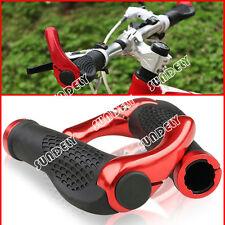 RED MOUNTAIN MTB BIKE CYCLE BICYCLE HANDLE BAR ERGONOMIC ENDURANCE GRIPS ENDS