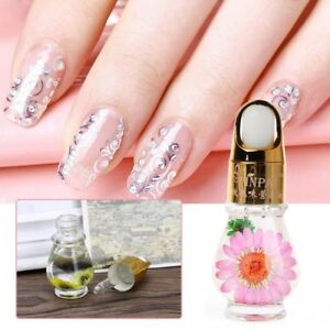 Image Is Loading Dry Flower Nail Oil Nourishment Nutritional Cuticle Treatment