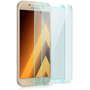 2x-Displayschutz-Glas-fuer-Samsung-Galaxy-A5-2017-Folie-Schutzpanzer-Glasfolie