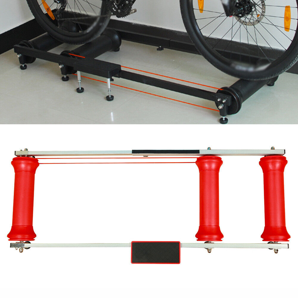 Professional Aluminum alloy Indoor Cycling Bicycle Bike Trainer Training Rollers