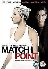 Match-Point-DVD-2006-Good-DVD-FREE-amp-FAST-Delivery