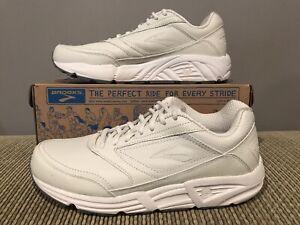 4abf8e76075d7 New Brooks Addiction Walker Men 11 4E Extra Wide White Save Off ...