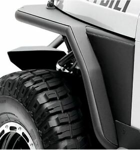 Smittybilt Xrc Armor Front Tube Fender With 3 Flare For Jeep