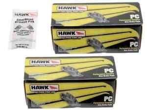 Rear Set Hawk HB544Z.628 PC Performance Ceramic Brake Pads