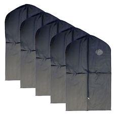 """New 5 PCS Garment Bag for suit, dress black 40 """" w/ transparent window"""
