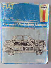 HAYNES FIAT 128 OWNERS WORKSHOP MANUAL 1972 through 1979