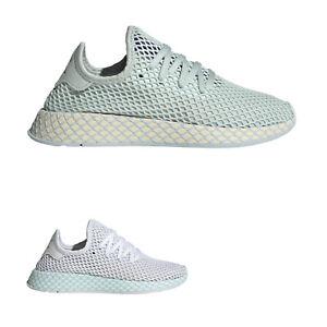 Details about Adidas Deerupt Runner Mesh Flat Athletic Lace-Up Damen Trainer