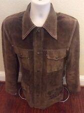 Levi's Vintage Clothing 1940's Reversible Leather Jacket Coat