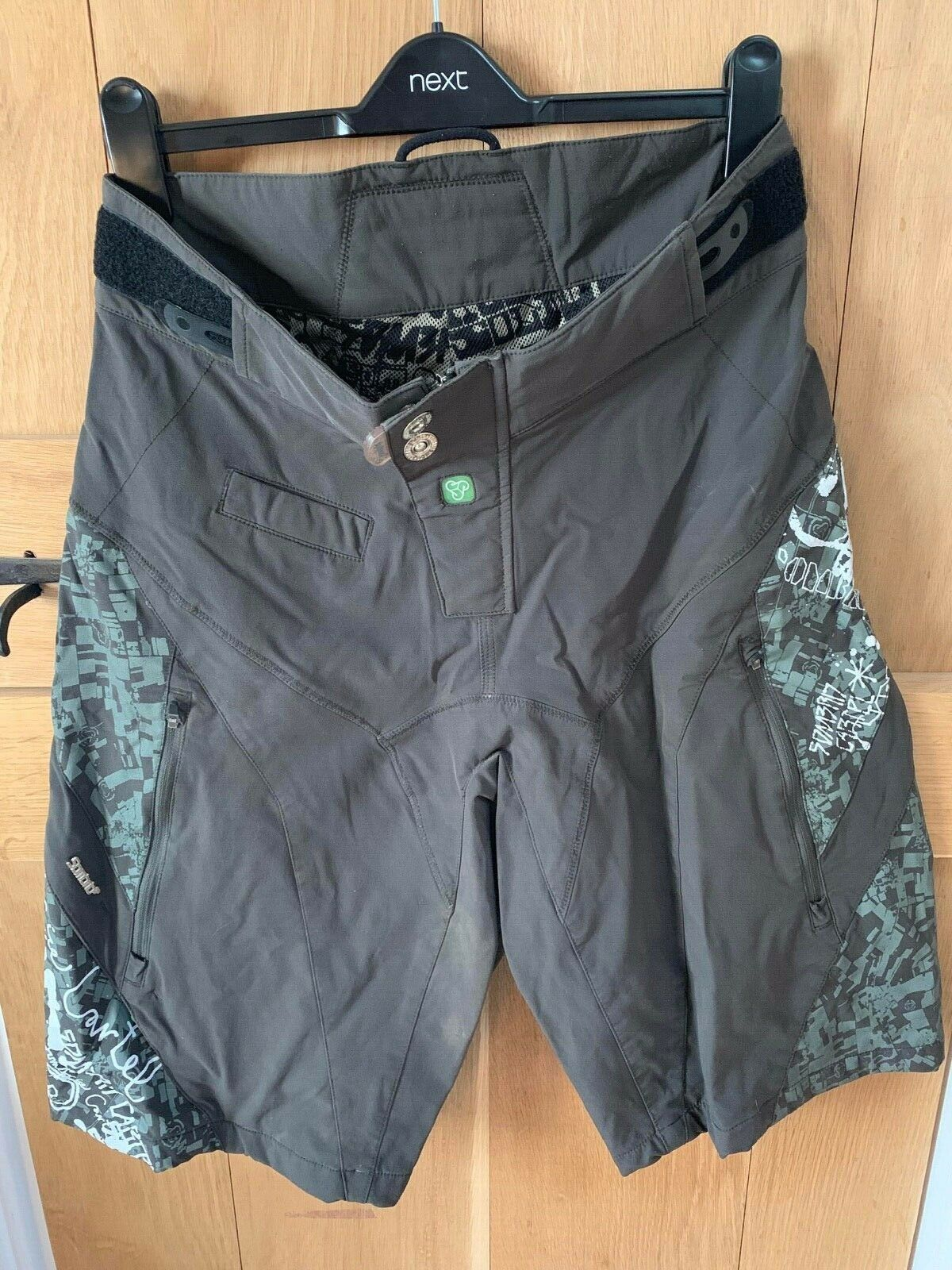Sombrio Rev Moto MTB Shorts - M -  Olive  floor price