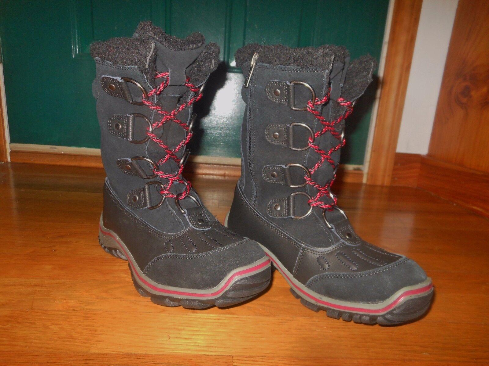 Pajar Alina women's winter boots - Sz Sz Sz 9-9.5 M - Euro sz 40 - Black - Worn once a75a07