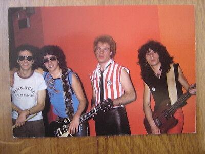 Carte postale Postcard AC//DC musicien MUSIQUE Hard Rock 12 x 17 cm