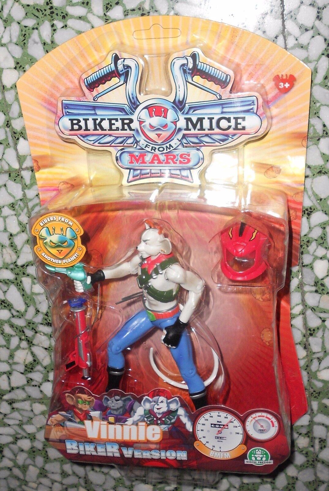 ACTION FIGURE Biker Mice Mice Mice from Mars VINNIE - MISB MOC 1d0159