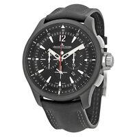 Jaeger Lecoultre Master Compressor Chronograph Black Dial Mens Watch Q205C570