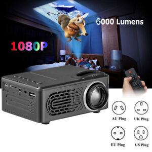 6000-Lumen-MULTIMEDIALE-1080P-VIDEO-HD-HDMI-LED-USB-Wi-Fi-Home-Cinema-Proiettore