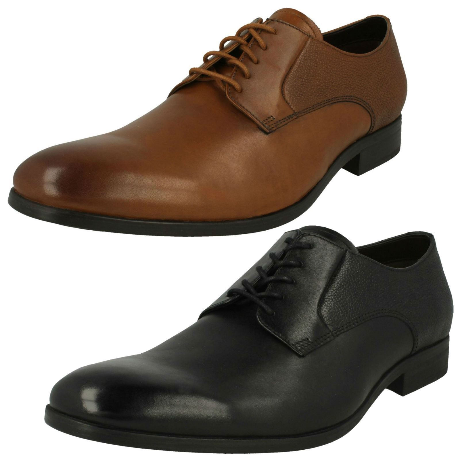 f446585c Clarks Mens Lace Lace Gilmore shoes Up Formal b2b04ztxi72714-Formal ...
