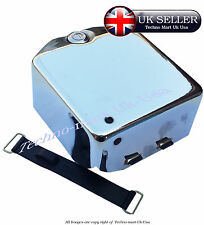 ROYAL ENFIELD BULLET BATTERY CARRIER COVER COMPLETE ASSEMBLY BOX LOCK 12VOLT @UK