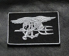 NAVY SEAL TRIDENT SWAT EAGLE TACTICAL MORALE SEAL HOOK PATCH