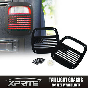 Charming Image Is Loading Xprite U S Flag Tail Light Cover Guard For