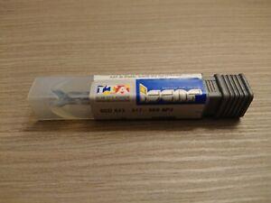 Carbide Drill  Iscar 4.3mm Diam. SCD 043-017-060 AP3 Grade IC908 , 6.0mm Shank