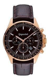 Uhrwerk Chronograph G3 Volante 004 Details Gigandet Miyota Rotgold Herrenuhr Zu Neu qzpMSUVG