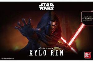 Star Wars Plastic Model Kit 1/12 KYLO REN Bandai Japan NEW ***