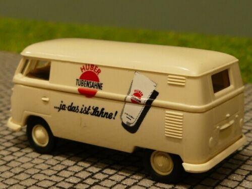 1//87 Brekina # 1260 VW T1 b Huber Tubensahne Sondermodell Reinhardt