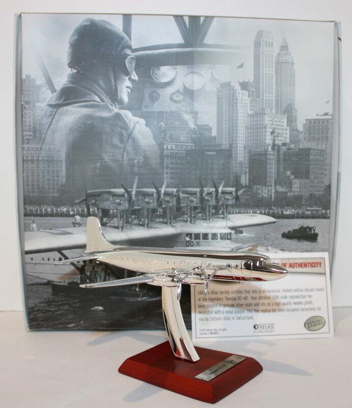 Atlas 1 200 Scale Diecast - 7 504 023 023 023 - 1951 Douglas DC-6B  | Ein Gleichgewicht zwischen Zähigkeit und Härte  108dca