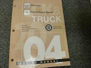 2004 Chevy Silverado 1500 2500 3500 Electrial Wiring ...