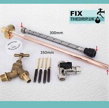 Profesional a través de pared Jardin Exterior Tap Kit cumple Agua reglamentos Gt1 hágalo usted mismo