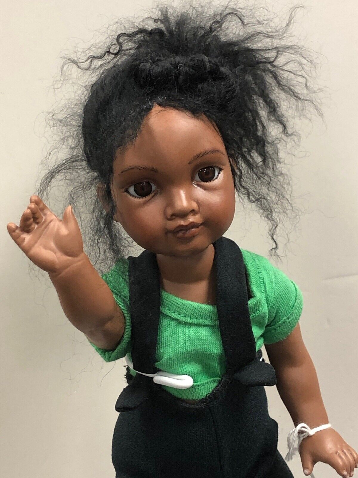 """13"""" Artist Porcelain Doll """"Patsy Pickles"""" daSie Malko African American  S"""