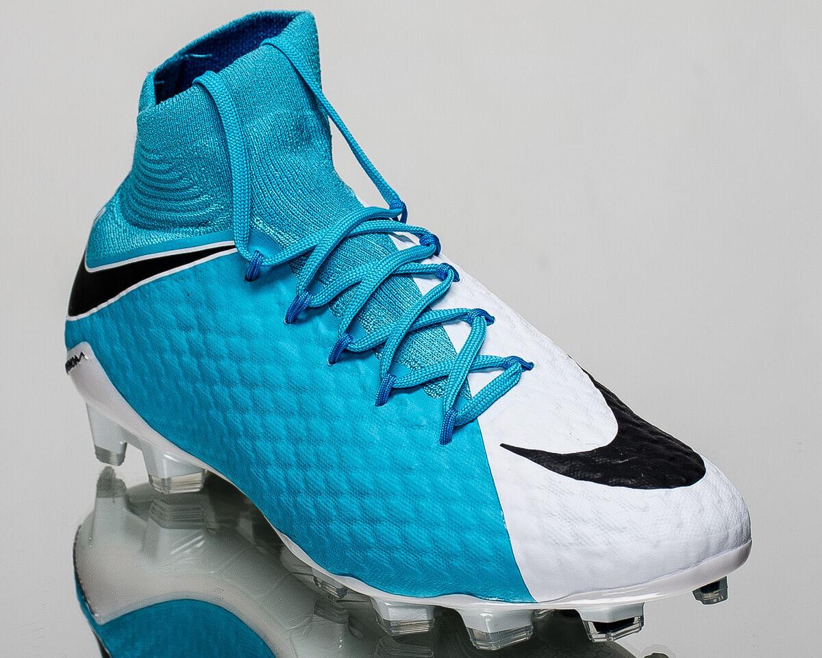 Nike Hypervenom Phatal III FG 3 homme soccer cleats football NEW  Bleu  878640-104