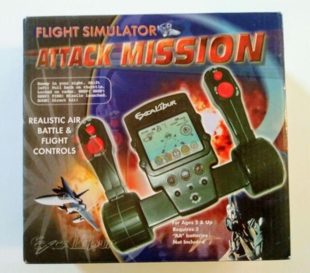 'Excalibur Flight Simulator Attack Mission