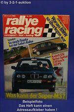 Rallye Racing 9/90 BMW M3 Opel Kadett Turbo Porsche