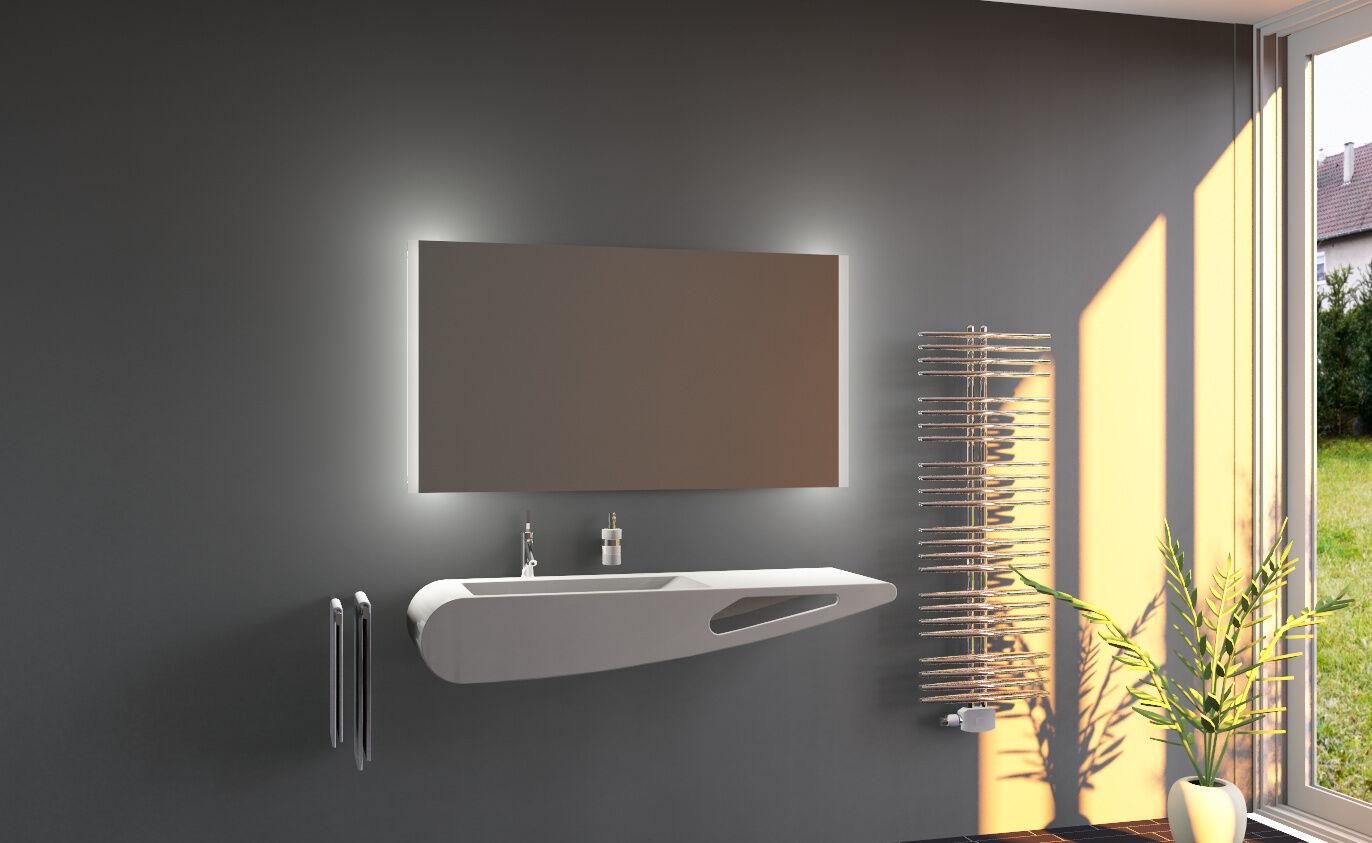 LED Bain Miroir De La Salle avec éclairage sale mural Sara