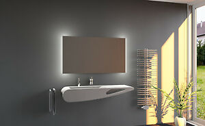 led bagno specchio specchio per il bagno con illuminazione bagno a ...