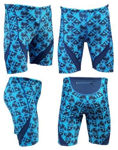 Acclaim Fitness Shanghai Atlantic Full Print pour homme natation Jammer Training Short