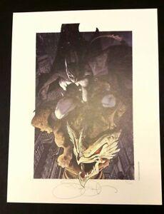Simone-Bianchi-stampa-33x43-numerata-400-copie-firmata-Batman-DC-Comics