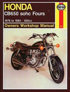 1978 1984 honda cb650 cb 650 cb650f night hawk nighthawk haynes rh ebay com 1983 Honda Nighthawk Black 1983 Honda Nighthawk 750